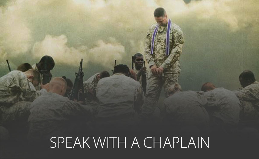 Speak with a Chaplain